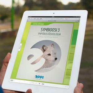 Symbioosi 3 iPadissa